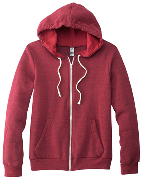 Canvas 3909 - Unisex Triblend Sponge Fleece Full-Zip ...