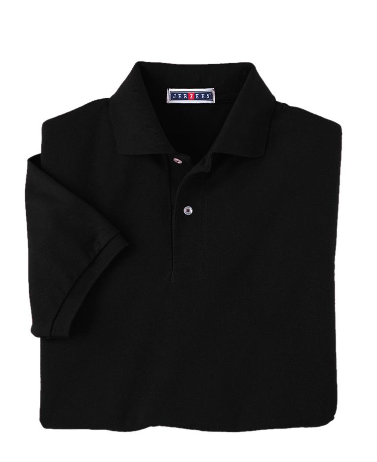 Jerzees 438 5.9 oz., 50/50 PiquSport Shirt with SpotShield