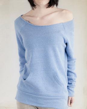 Alternative AA9582 Ladies 6.4 oz. Maniac Sweatshirt