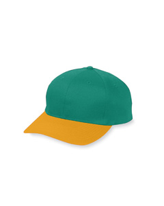Augusta Drop Ship 6206 Youth Six-Panel Cotton Twill Low-Profile Cap