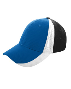 Augusta Drop Ship 6247 Sport Flex 3-Color Athletic Mesh Cap