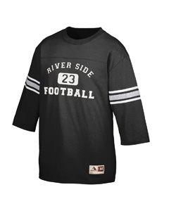 Augusta Drop Ship 677 Youth Old School Football Jersey
