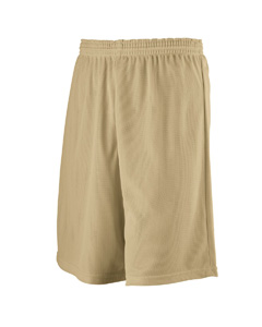 Augusta Drop Ship 739 Youth Longer Length Mini Mesh League Short