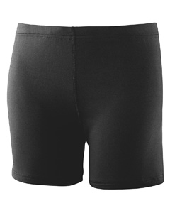 Augusta Drop Ship 743 Girl's Poly/Spandex Short