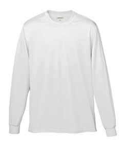 Augusta Drop Ship 789 Youth Wicking Long-Sleeve T-Shirt