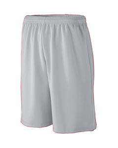 Augusta Drop Ship 809 Youth Long Length Wicking Mesh Athletic Short
