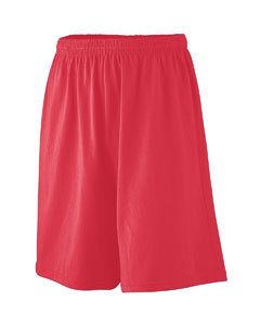 Augusta Drop Ship 916 Youth Longer Length Jersey Short