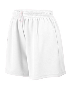 Augusta Drop Ship 961 Girl's Wicking Mesh Short