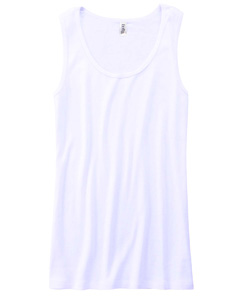Bella 6480 Ladies 5.8 oz. Missy Widestrap Baby Rib Tank