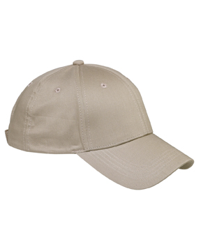 Big Accessories BX020 6-Panel Structured Twill Cap