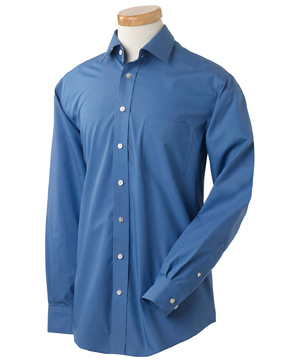 Chestnut Hill CH600C Men's Executive Performance Broadcloth ...