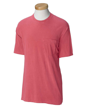 cafd351b Comfort Colors 6030CC 6.1 oz. Garment-Dyed Pocket T-Shirt List Price:  $21.51. Our Price: $5.88