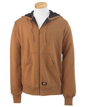 Dickies TW382 Men's 470 Gram Thermal-Lined Fleece Hooded ...