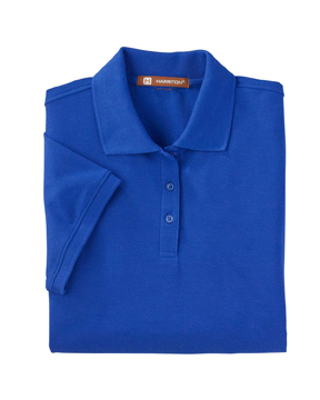 Harriton M280W Ladies' 5 oz. Blend-Tek™ Polo