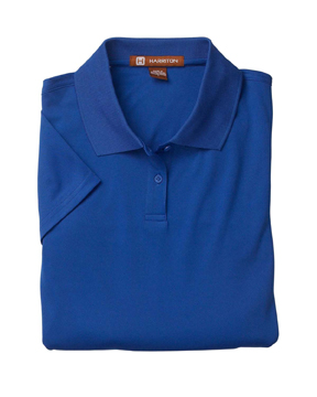 Harriton M315W Ladies 4 oz. Polytech Polo