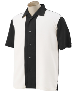 Harriton M575 - Men's Two-Tone Bahama Cord Camp Shirt