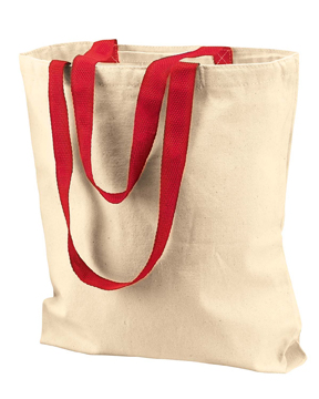 Liberty Bags 8868-Gusseted 10 Ounce Natural Tote with ...