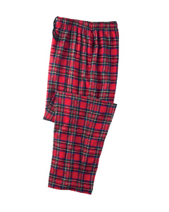 Robinson Apparel 9970 Unisex Plaid Drawstring Flannel ...