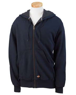 Dickies TW382 Men's 470 Gram Thermal-Lined Fleece Hooded Jacket