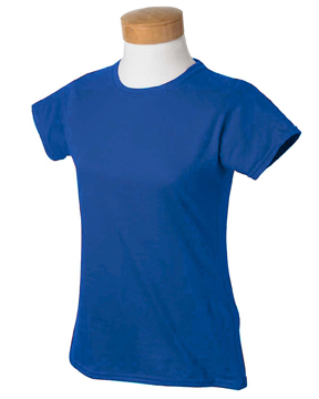Gildan G640L - Ladies 4.5 oz. SoftStyle Tee