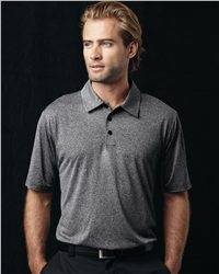 adidas A163 Golf ClimaLite Heathered Polo
