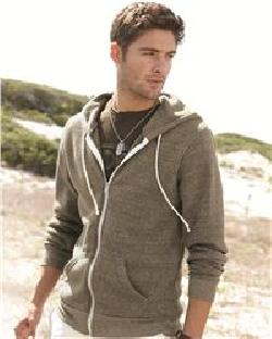 Alternative 9590 Rocky Eco Fleece Hooded Full-Zip