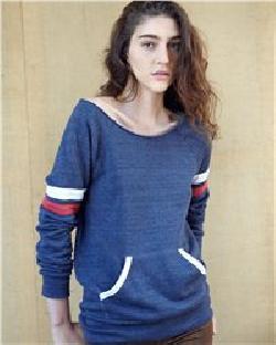 Alternative 9583 Ladies' Maniac Sport Eco Fleece Sweatshirt