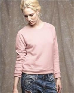 Alternative 9820 女士毛圈卫衣面料插肩袖运动衫