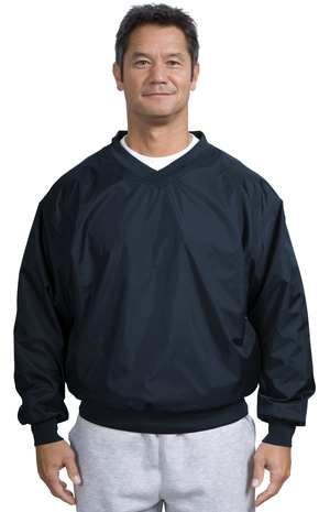 Sport-Tek® JP72 Nylon V-Neck Wind Shirt