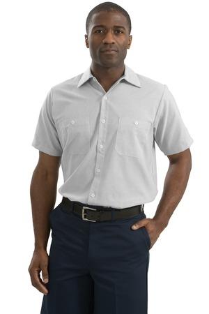 CornerStone® CS20 Short Sleeve Striped Industrial Work Shirt