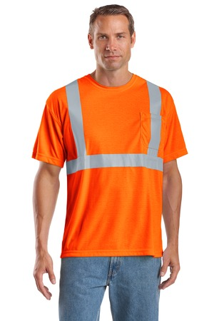 CornerStone® CS401 ANSI 107 Class 2 Safety T-Shirt