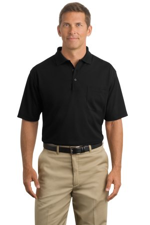 CornerStone® CS402P Industrial Pocket Pique Polo