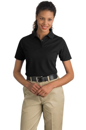 CornerStone® CS403 Ladies Industrial Pocketless Pique Polo