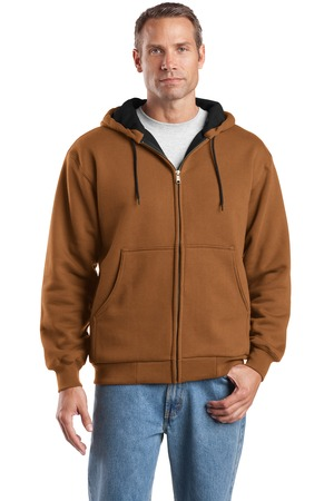 CornerStone® CS620 Heavyweight Full-Zip Hooded Sweatshirt with Thermal Lining
