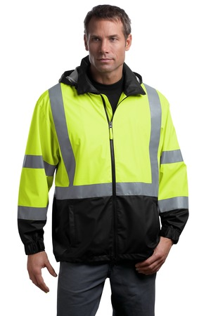 CornerStone® CSJ25 ANSI 107 Class 3 Safety Windbreaker