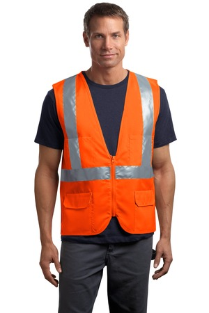 CornerStone® CSV405 ANSI 107 Class 2 Mesh Back Safety ...