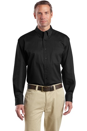 CornerStone® SP17 Long Sleeve SuperPro Twill Shirt