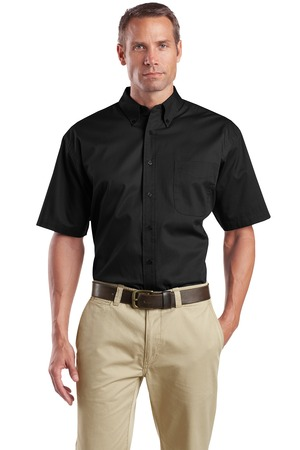 CornerStone® SP18 Short Sleeve SuperPro Twill Shirt