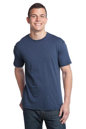 District® DT140 Young Mens Slub Crew Neck Tee
