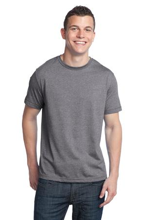 District® DT142 Young Mens Tri-Blend Crew Neck Tee