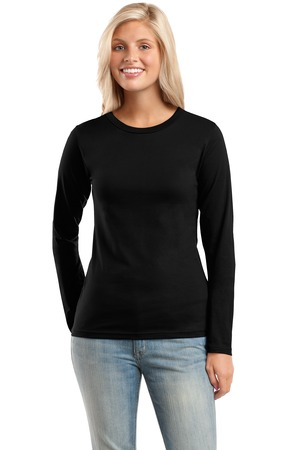 District® DT201 Juniors Perfect Weight Long Sleeve ...