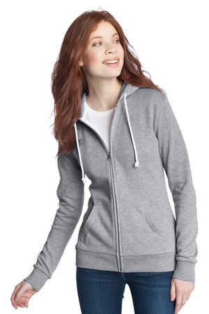 District® DT290 Juniors Core Fleece Full-Zip Hoodie