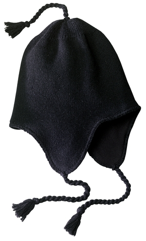 District® DT604 Knit Hat with Ear Flaps