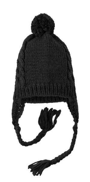District® DT617 Cabled Beanie with Pom
