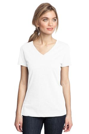 District Made™ DM1170L Ladies Perfect Weight V-Neck Tee