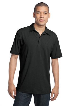 District Made™ DM350 Mens Slub Polo