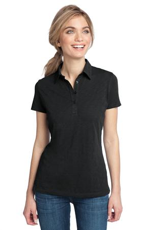 District Made™ DM450 Ladies Slub Polo