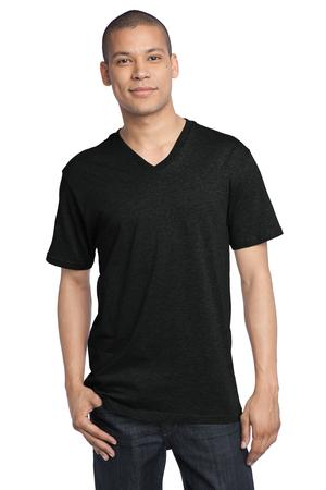 District Made™ DT1170 Mens Perfect Weight V-Neck ...