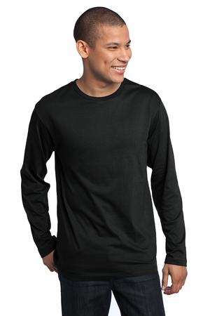 District Made™ DT105 Mens Perfect Weight Long Sleeve ...
