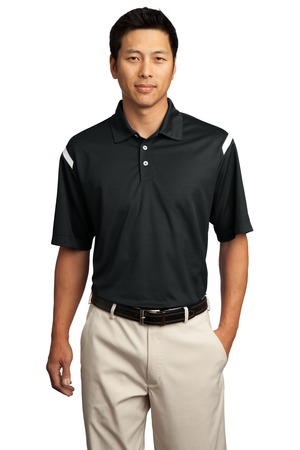 Nike Golf 402394 Dri-FIT Shoulder Stripe Polo